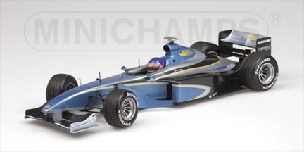 1999 BAR 01 Supertec Jacques Villeneuve Test Car