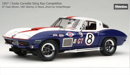 Chevrolet Corvette Sting Ray Competition 1967 #8 Yenko/Morgan