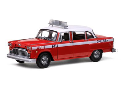 1981 Checker A11 Chelsea Fire Car