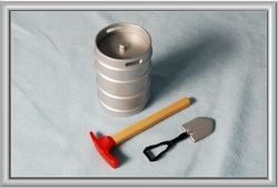 Accessories Set (Keg, Pick, Shovel)