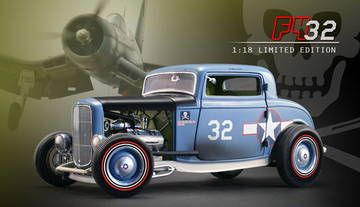 Ford 1932 Highboy Roadster U.S.Navy F4U Corsair Coupe