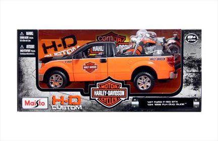 Ford F-150 STX 2010 & Harley-Davidson FLH Duo Glide 1958