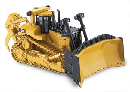CAT D11T Track-Type Tractor with metal tracks