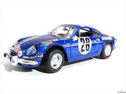 Renault Alpine 1600S 1971 #28