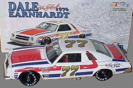 Chevrolet Malibu 1976 Dale Earnhardt #77