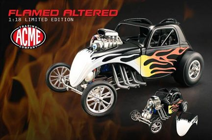 Fiat Topolino Flamed Altered