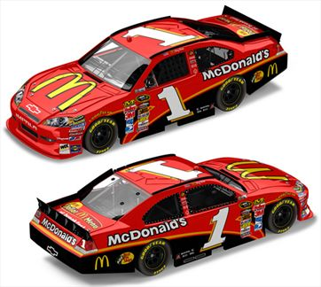 Jamie McMurray #1