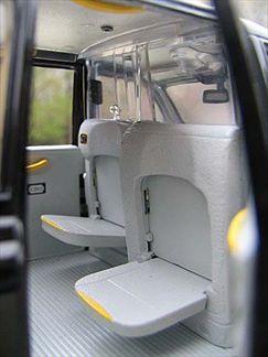 London Taxi Cab 1998