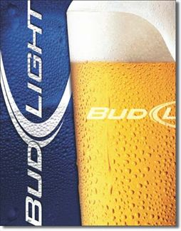 Bud Light - Frosty Glass