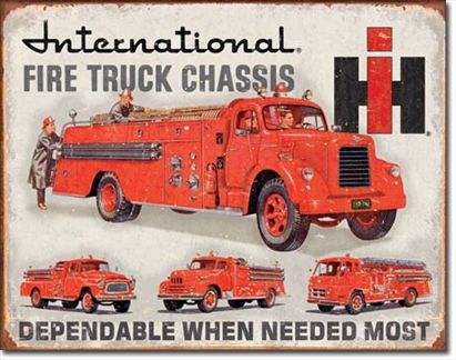 International Fire Truck Chassis