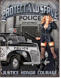 Police Dept - Protect & Serve