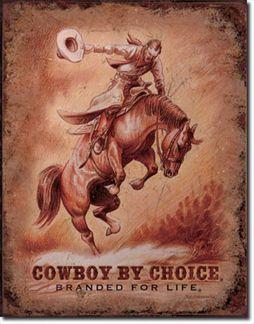 Cowboy By Choice - Saddle Bronc