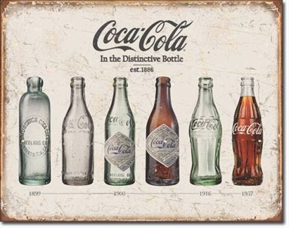 Coca-Cola - Bottle Evolution  #E1839