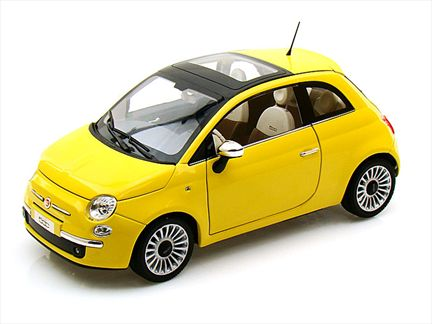 fiat 500 lounge jaune. Black Bedroom Furniture Sets. Home Design Ideas
