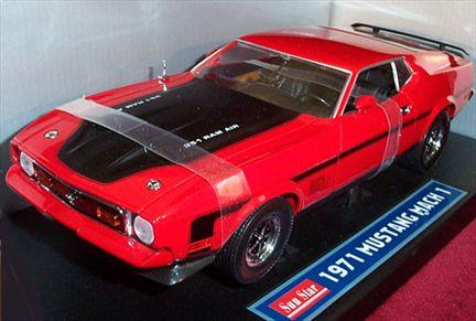 1971 Ford Mustang Boss 351 Mach-1 Ram