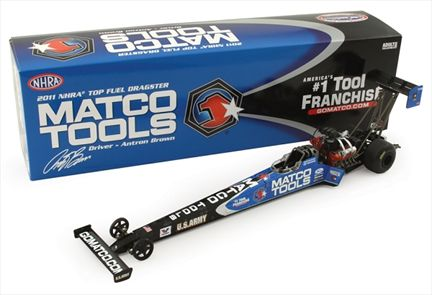 Antron Brown Matco Tools Top Fuel Dragster 2011