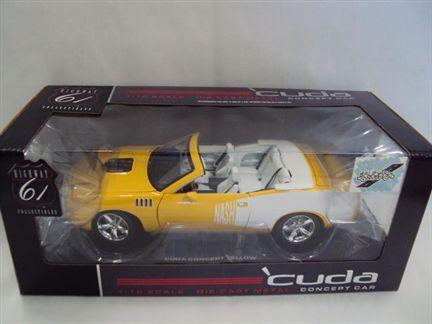 Plymouth Cuda Concept Convertible