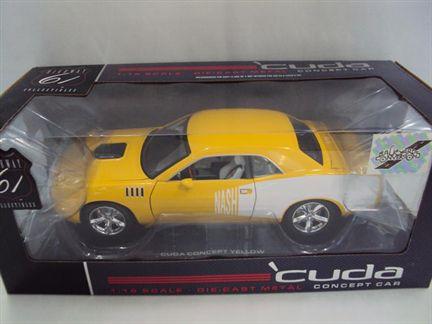 Plymouth Cuda Concept Coupe