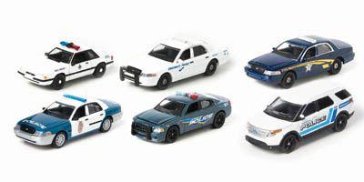 Hot Pursuit Police Series 1:64 Set #9