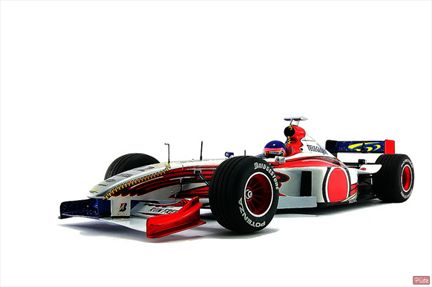Jacques Villeneuve BAR 01 Supertech 3.0 V10