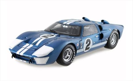 Ford GT-40 MKII 1966 Racing #2