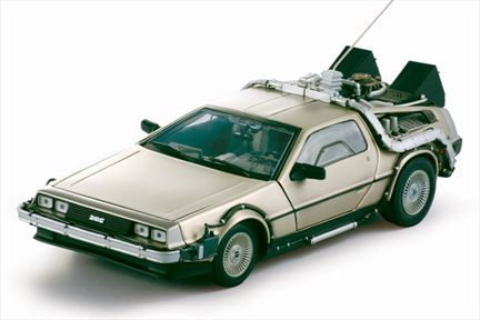 Back To The Future I DeLorean