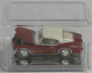 Display for an 1/64 scale diecast (Set of 3) Mirror base