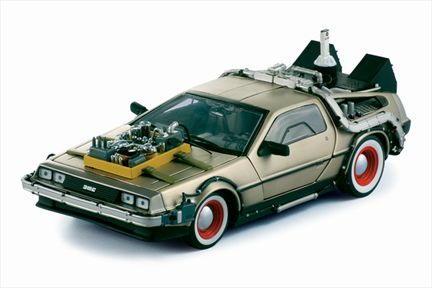Back To The Future III DeLorean
