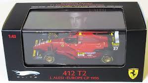 FERRARI 412 T2 JEAN ALESI EUROPE GP 1995 F1