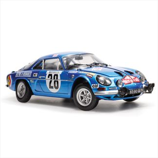 Renault Alpine A110 1600S #22 Rally Monte carlo 1971